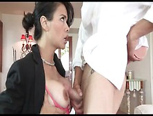 Mean Stepson Fucks And Baptizes His Submissive,  Class,  Asian Ste