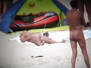 Beach Is Fill Of Naked Women As Always On Spy Cam