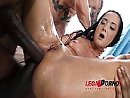 Petite Slut Angie Moon Total Anal And Pussy Destruction Party