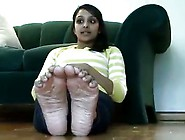 Indian Teen With Smelly Feet