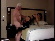 Lucky Grandpa Gets To Fuck A Teen