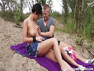 Big Tittied Young Girl Nicoletta Enjoys Having Dirty Outdoor Sex