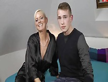 43-Year-Old German Mom Amazing Fuck With Son