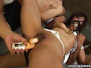 Tied Up Japanese Girl Gets Fucked By Vibrator And Dildo