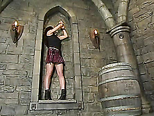 Some Weird Gothic Place Is A Perfect One For Bdsm