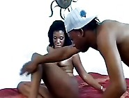 This Ebony Babe Gets Fuck And Nut In Her Mouth