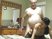 Grampa Fucks A Young Asian Escort