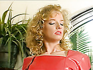 Naughty Lady In Red Dress Enjoys Riding Big Cock Reverse