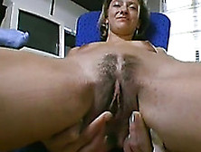 Insane German Slut Shows Her Pussy Depth To The Buddy