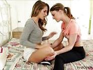 Slutty College Teens Kristen And Kimmy Cherishes Pussy Fingering