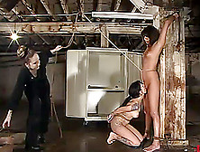 Bdsm Perversion Over Two Kinky Sex Slaves