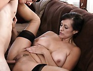 Hot Mature Hottie Gets Her Pussy Gap Split By Throbbing Dick