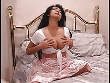 An Exotic Slut With Large Beautiful Tits Twists Her Awesome Nipp