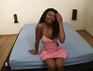 French Ebony Syrena Gets Rough Gangbang