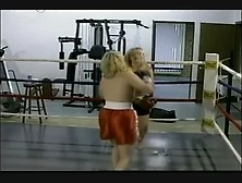 Bbw Topless Boxing 2