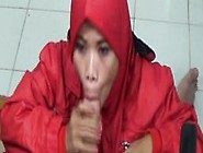 Malay Muslim Chick In Red Giving Me Head Muslimporn-Com