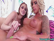 Hardcore Shemale Rococo Royalle Having Fun Fucking Babe Nina Roy