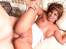 Voluptuous Latina Rio Mariah Fingers Her Peach While A Stiff Coc