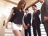 Japanese Maid Is So Provocative In This Miniskirt Her Boss Grope