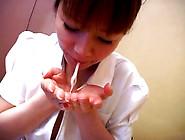 Japanese Nurse Dildo Scene