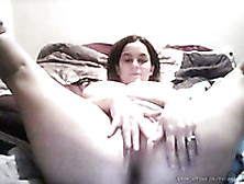 Me,  Exposing My Big Saggy Tits On Cam And Titfucking A Dildo