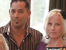 Swinger Reality Show Amateurs Foursome Fucking