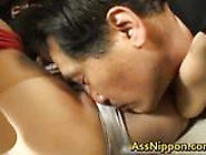 Excited Tokyo Slut Has Hairy Cunt Tongued And Toyed