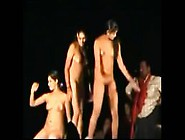 Desi Indian Girls Dancing Nude In Public Stage