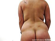 Slutty Fair Haired Sex Pot With Big Tits Presents Hard Boob Fuck