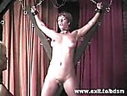 Bizarre Lesbian Femdom With Crucified Slave Girl