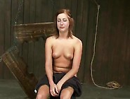 Pillory Funtime Involving And Toying Torture For Charlie Ann