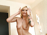 Hot Like Fire Blond Bitch With Big Ass Rides Hard Penis Ardently