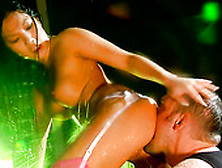 Ardent Stripper Asa Akira Gets Her Cunt Fucked Near The Strip Po