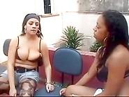 Brasil Lesbian Spit Swap