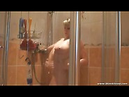Spy Captures A Curvy Girl Taking A Shower