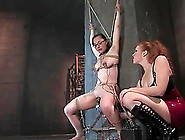 Maggie Mayhem Gets Tied Up And Tortured By Sabrina Fox