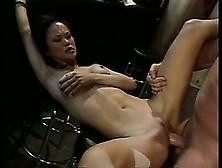 Alluring Asian Girl With Big Boobs Mia Smiles Enjoys A Rough Pou