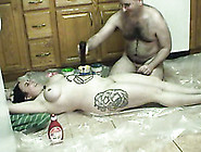 Time For A Dessert With Plumpy Big Tittied Bbw Chick