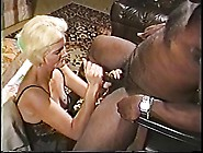 Blonde Mature Granny In Lingerie Loves Sucking On A Big Hard Bla