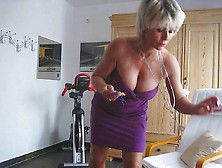 Lady Barbara Working Out