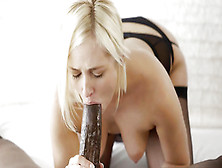 Blonde Babe Kate England Gets Anal Interracial With Bbc