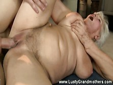 Old Mature Granny Getting Pussyfucked