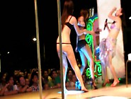 Hot Asian Babe Dancing Show 热舞街头美女 1-2