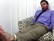 Skinny Gay Boys Feet Worship Chase Lachance Tied Up,  Gagged