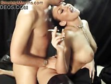 Hot Black Chick Smoking And Fucking