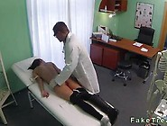 Brunette Fucked By Doctor On Spy Cam