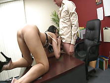 Serious Hardcore Fucking In The Office