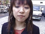 Japanese Humiliation - Public Facial Cum Walk Three