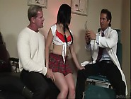 A Guy Offers His Wife Amy Starz To The Doctor And They Have A 3S