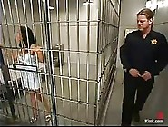Thai Slut,  Mika Tan Ended Up In The Prison And Decided To Enjoy